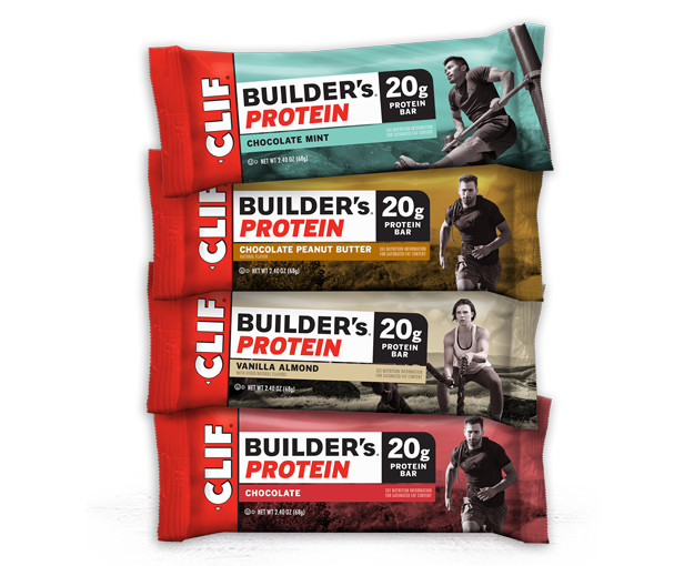 CLIF BUILDER'S VARIETY PACK packaging