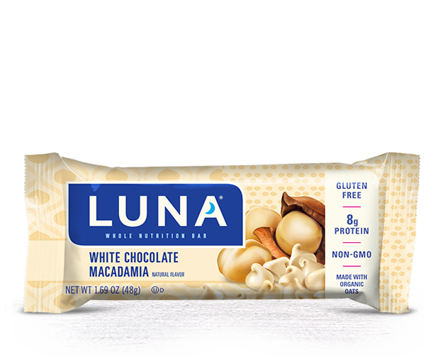 White Chocolate Macadamia Flavor packaging