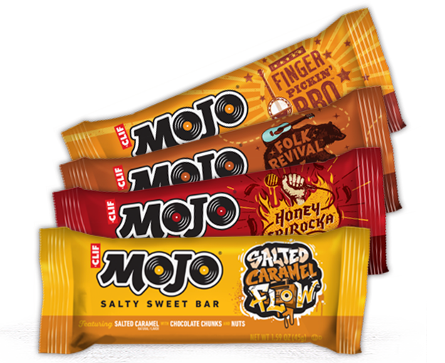 Clif Mojo Bar Variety 8-Pack packaging