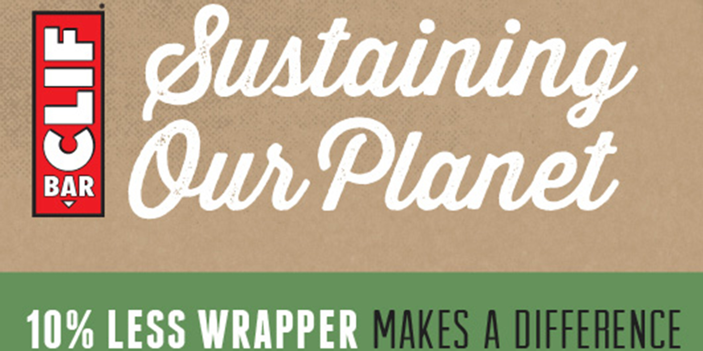 Clif Sustainable Packaging