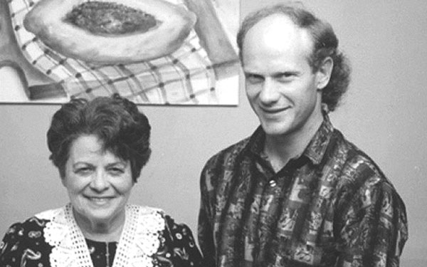 Gary Erickson and his mother