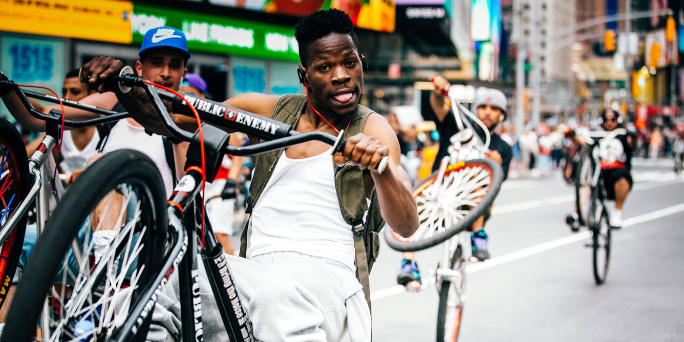 Two Wheels: New York City