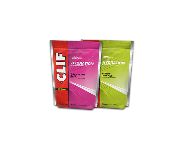 CLIF HYDRATION ELECTROLYTE DRINK MIX VARIETY 4-PACK packaging