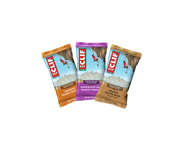 CLIF BAR PEANUT LOVER'S VARIETY 12-PACK packaging